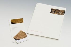 Flyer, Visitenkarten und Präsentationsmappe