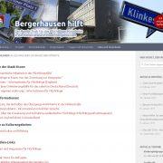 Bergerhausen hilft - Pro Bono Aktivität - zingel visuelle kommunikaton