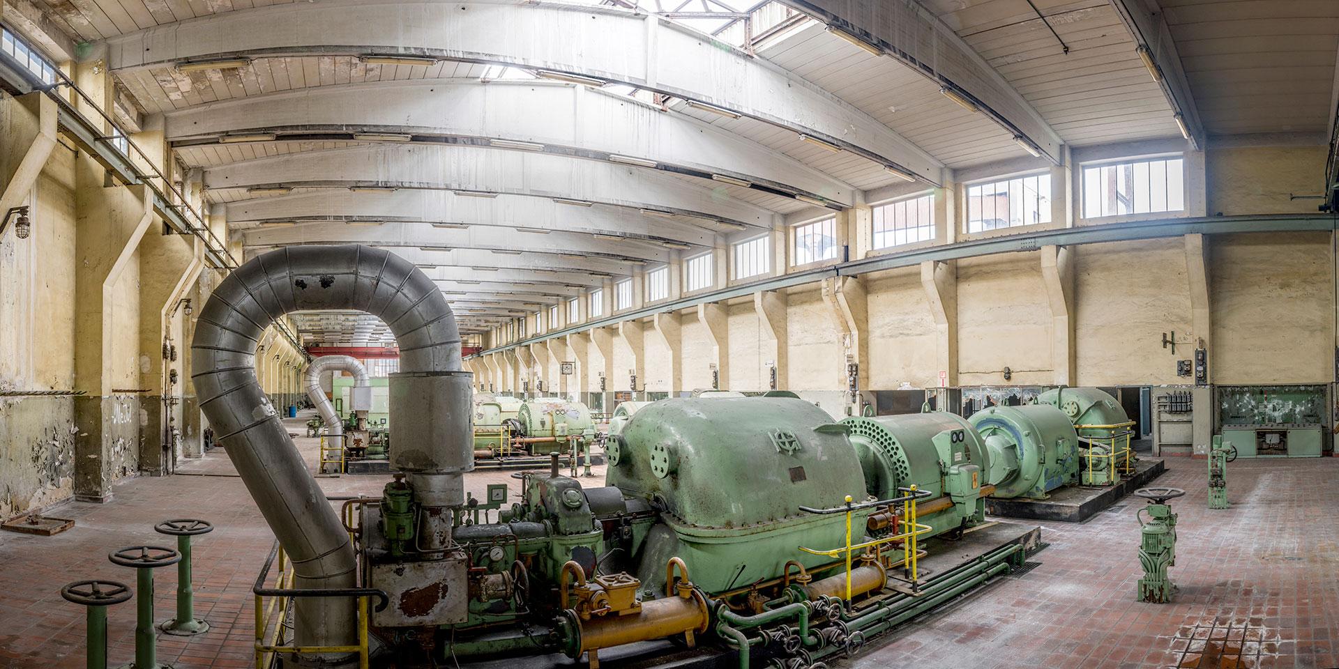 Welterbe Zollverein Kokerei - Saugerhaus/Kompressorenhalle - Essen
