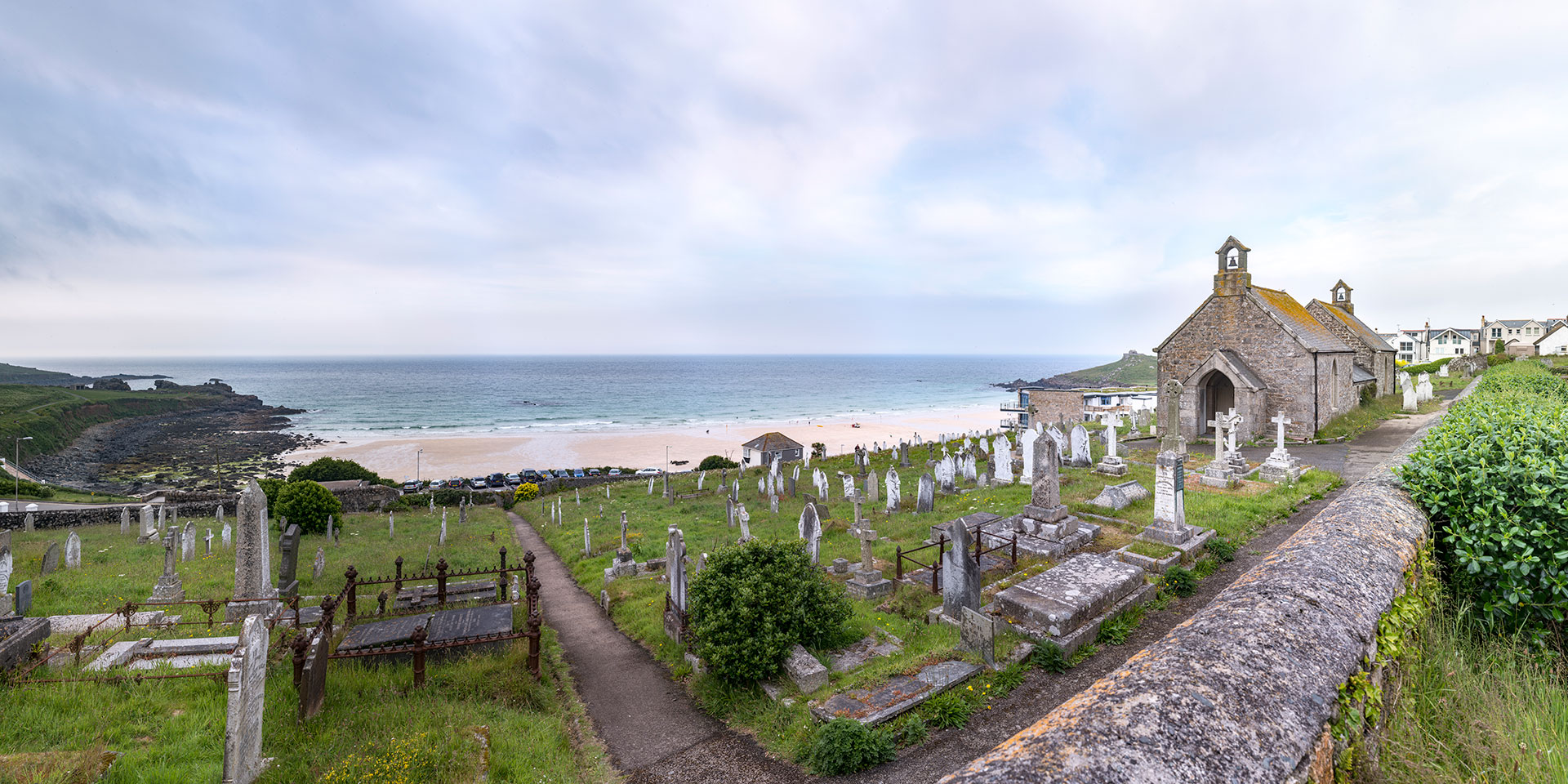 Barnoon Cemetery - St.Ives - Cornwall - England