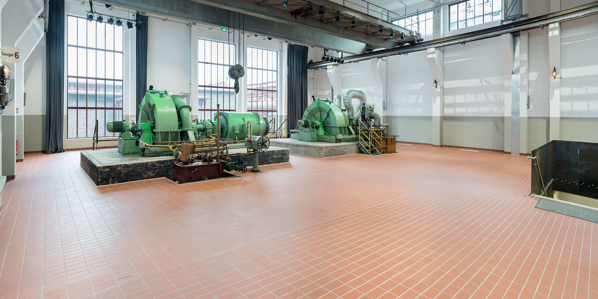 Welterbe Zollverein, Essen, Saugerhaus - Grand Hall Zollverein
