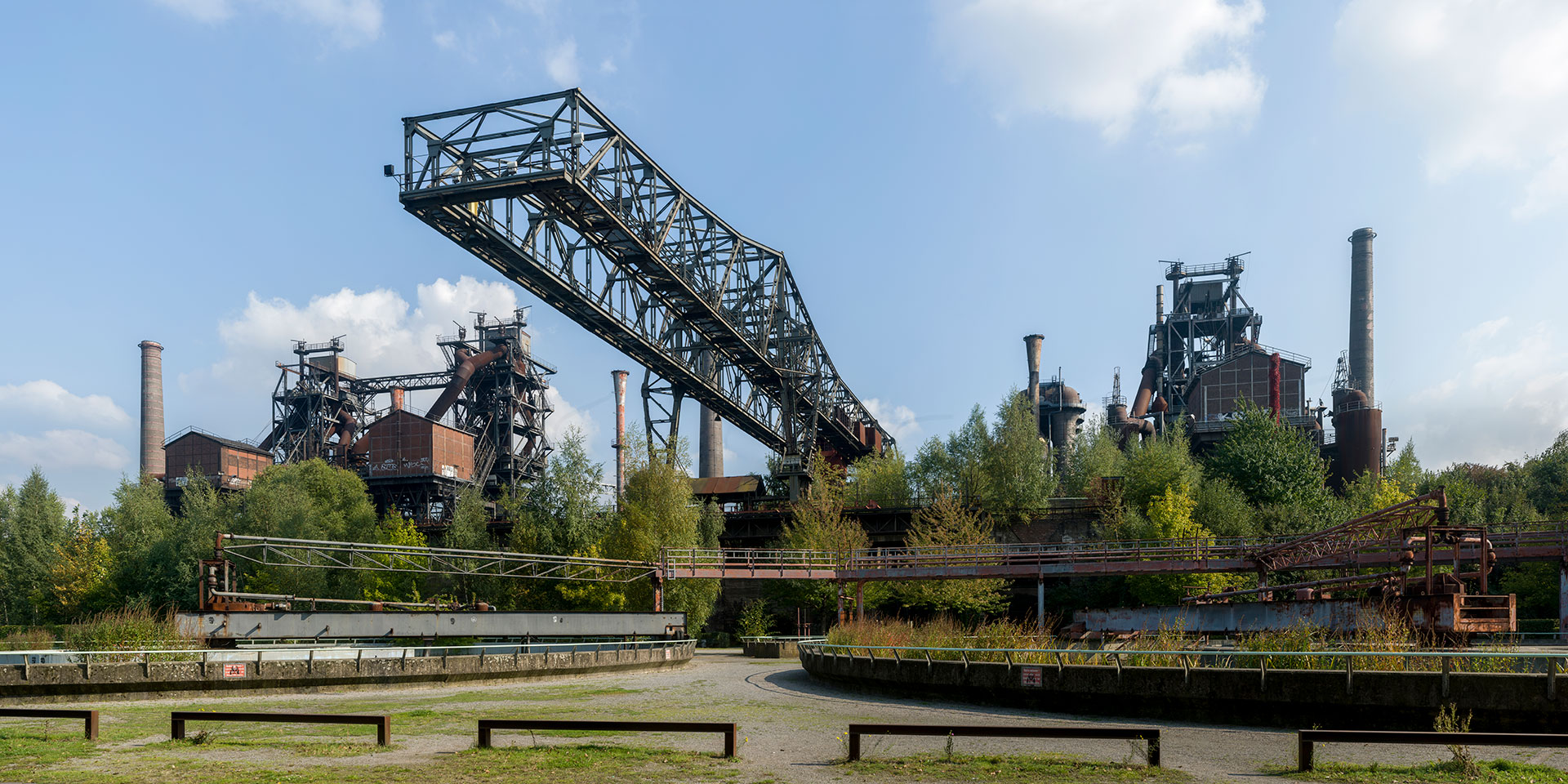 Landschaftspark Duisburg-Nord. Deutschland