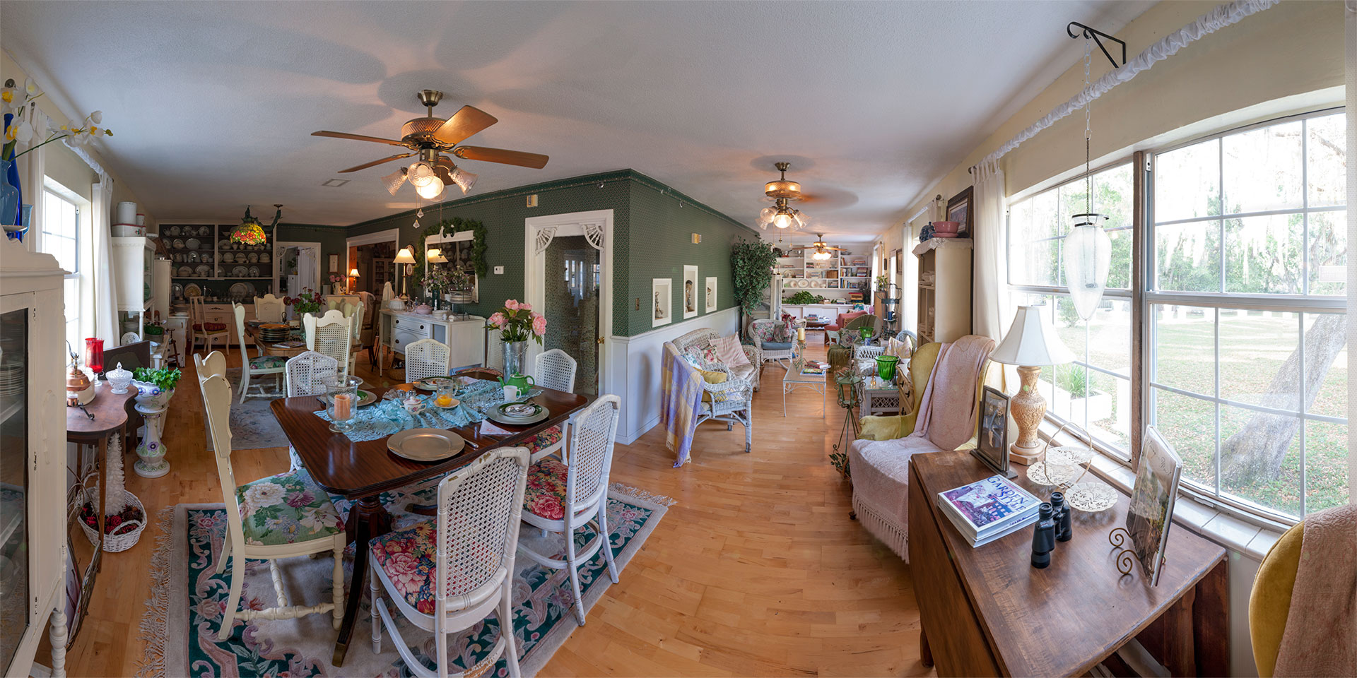 Breakfast-Room, The Lakehouse, Inverness, Florida, USA