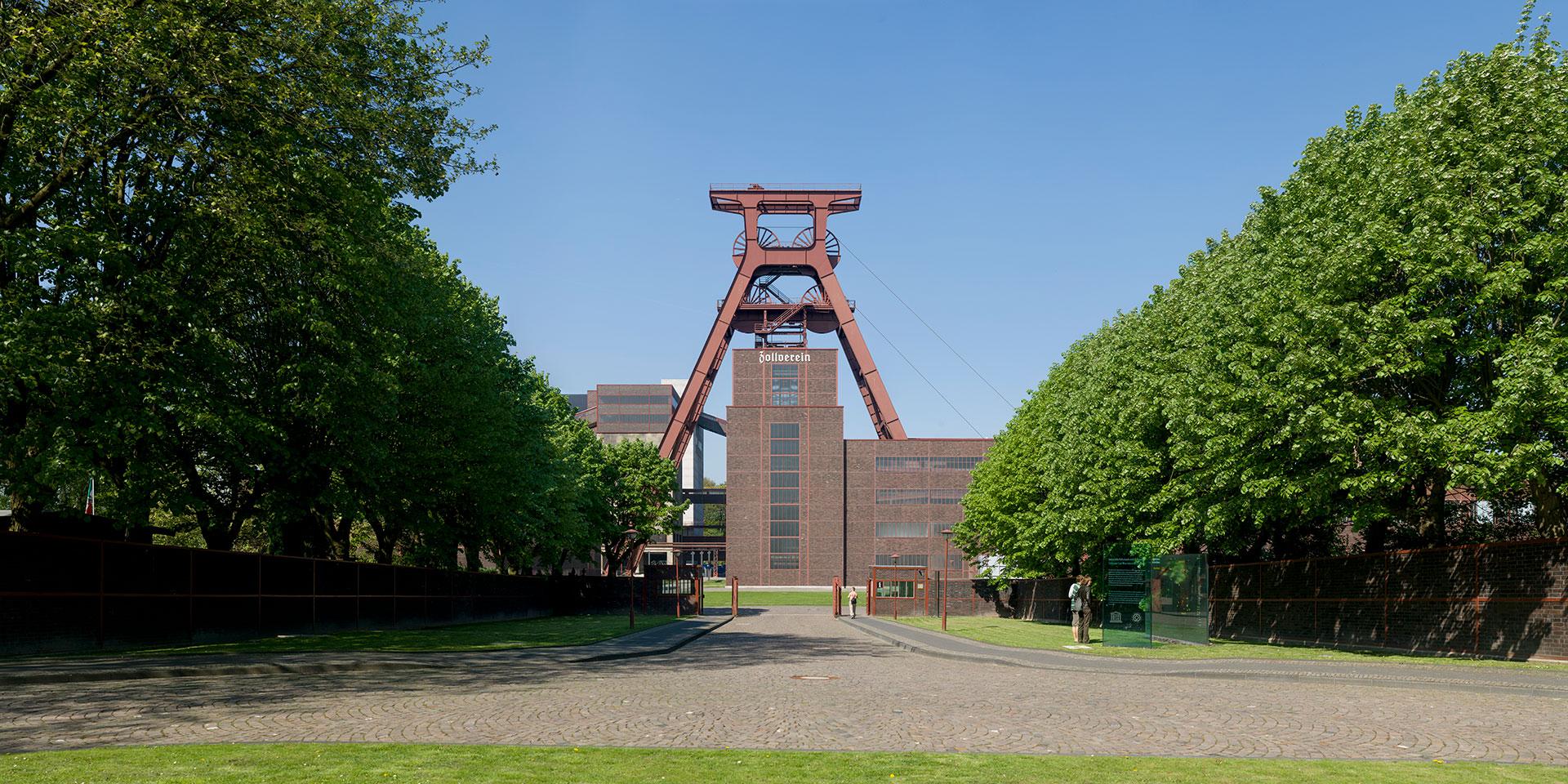 Fördergerüst | Zeche Zollverein - Essen - Deutschland