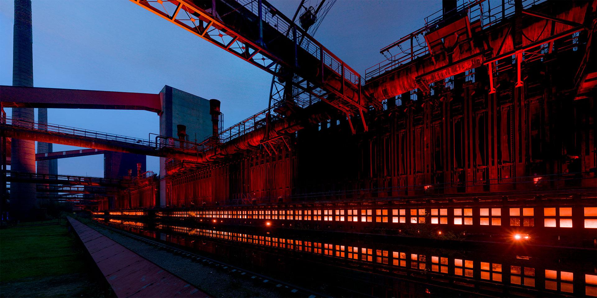 Koksofenbatterien Ausdrückseite | Kokerei Zollverein - Essen -