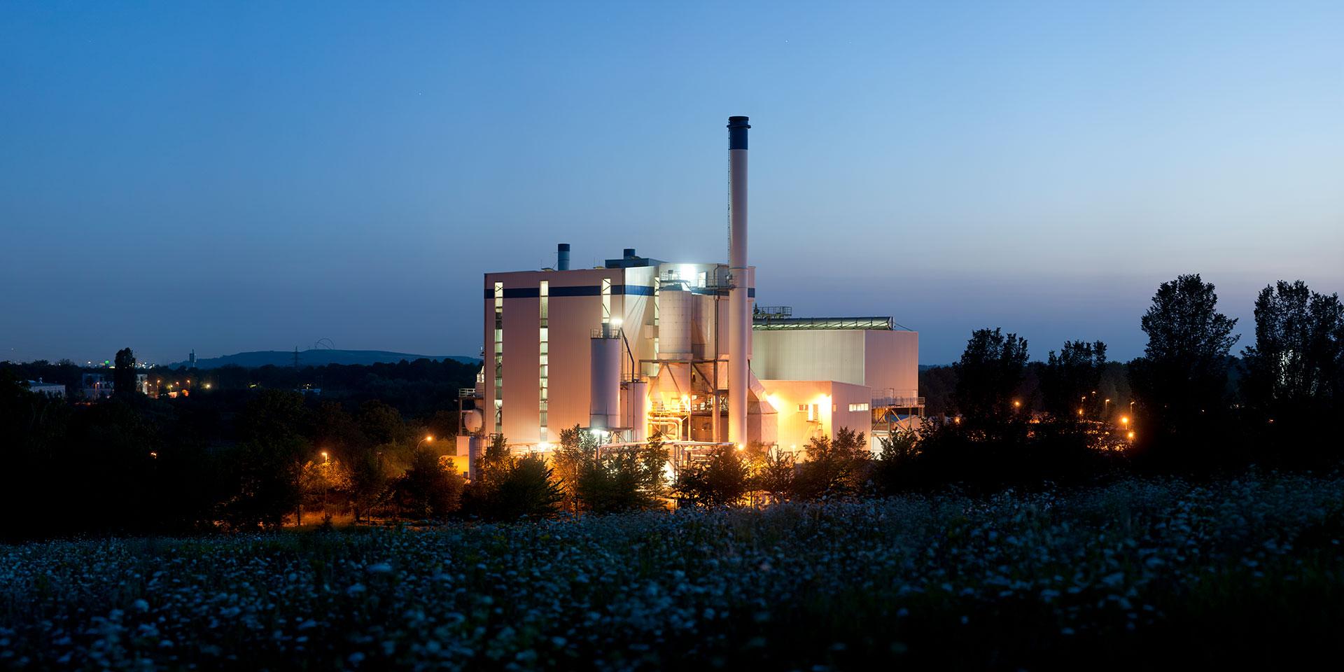 Biomasse-Kraftwerk - Suderwich - Recklinghausen