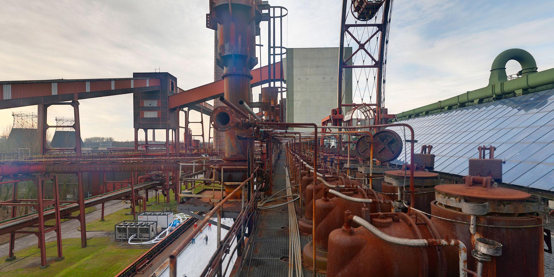 Kokerei Zollverein - Gang vor der Ofendecke