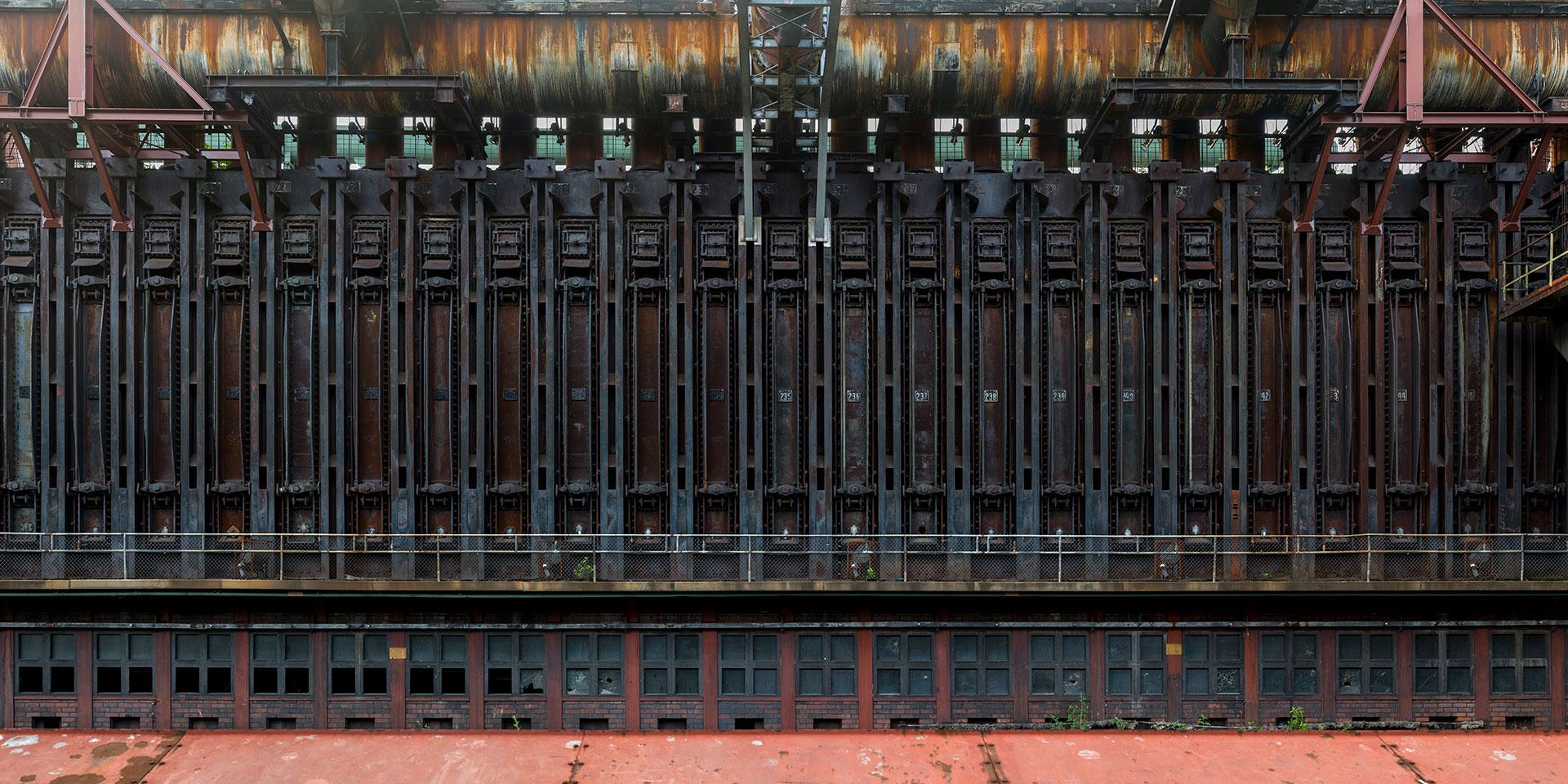 Kokerei Zollverein - Ofentueren