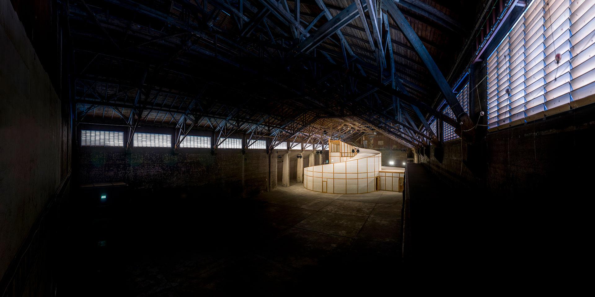 Palast der Projekte - Salzlager Kokerei Zollverein - Essen