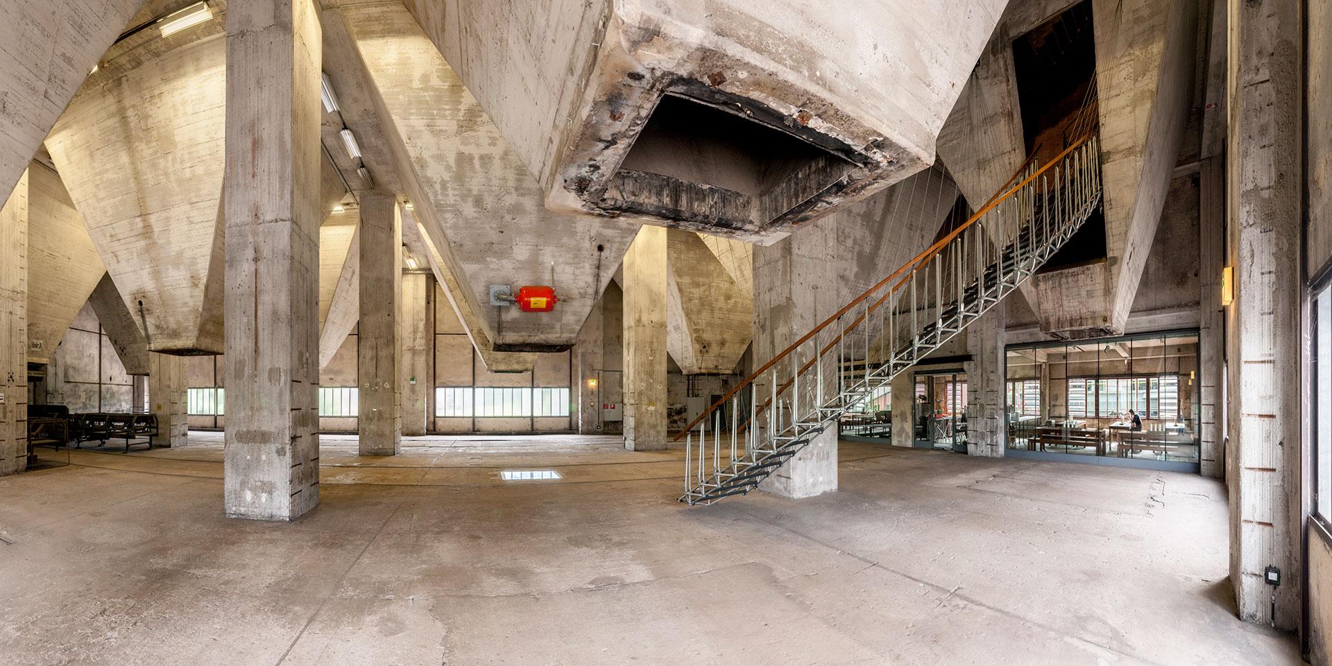 Kokerei Zollverein - Trichterhalle der Mischanlage